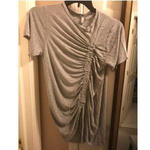 ASOS drawstring T-shirt dress